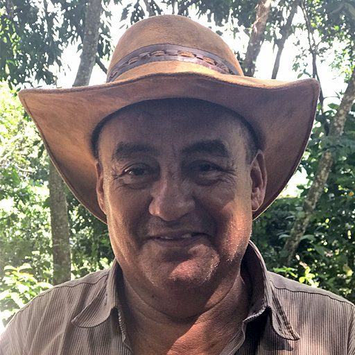 Eliecer Carvajal- Coffee farmer